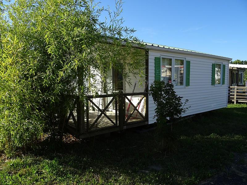 Location de Lodge Terrasse 4 personnes au camping du lac à Curbans