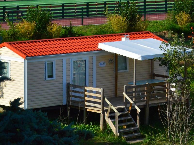 Bungalow Cordial 2 chambres camping du lac à Curbans