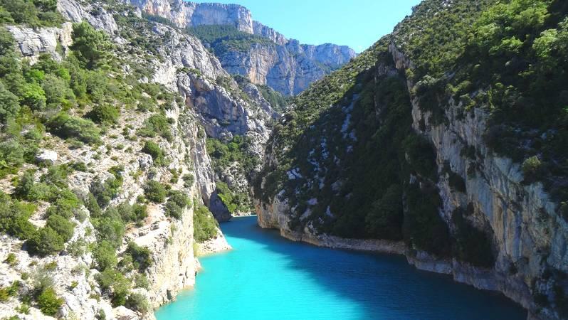Les Gorges du Verdon dans les Alpes de Haute Provence