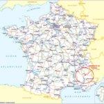 Situation du camping du Lac à Curbans dans le sud de la France