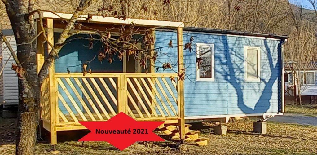 Mobil home Résidence Ecrins au camping du Lac à Curbans